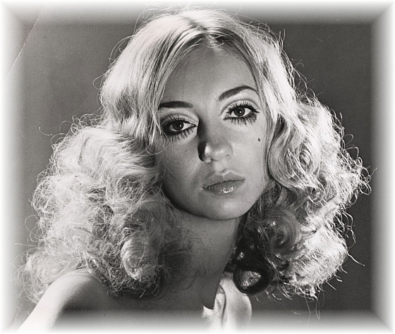 hair design by David Satkchell - blonde curls